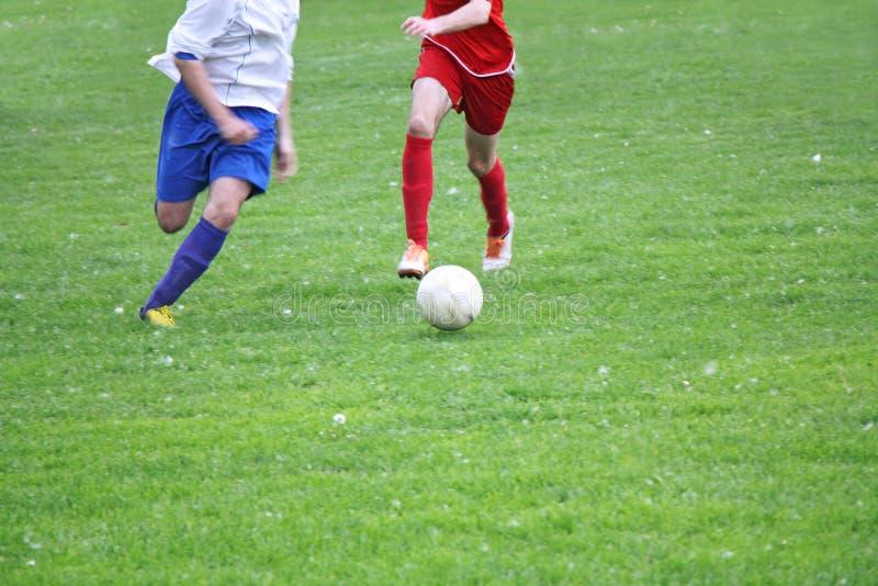 Fotboll eller fotboll royaltyfria bilder