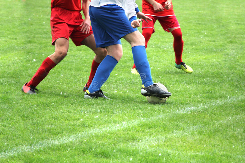 Fotboll eller Soccer_02 royaltyfria foton