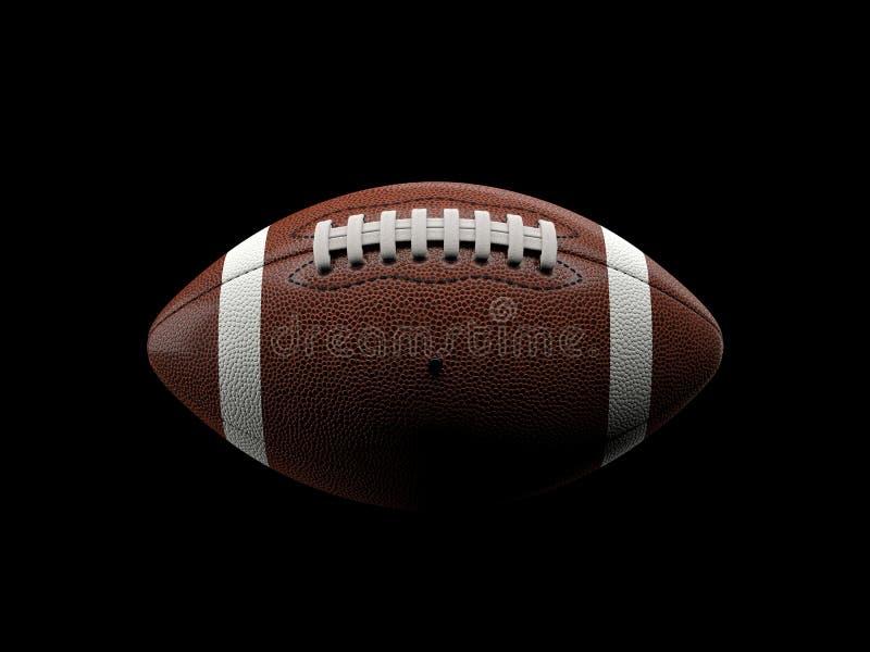 fotboll för amerikansk boll stock illustrationer