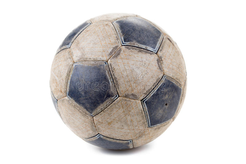 fotboll för burning exponeringsglas för aquaboll royaltyfri foto