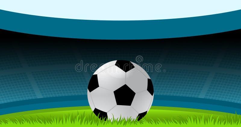 Fotboll fotboll, fotbollboll, sport, stadion vektor illustrationer