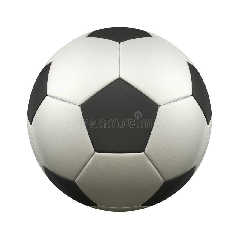 Fotboll klumpa ihop sig vektor illustrationer