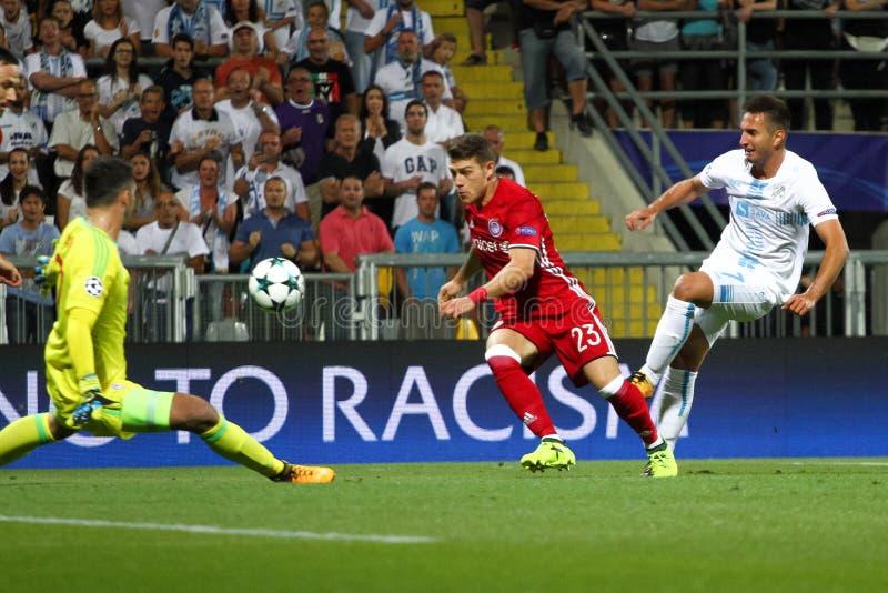 Fotboll - liga för UEFA-mästare royaltyfria bilder
