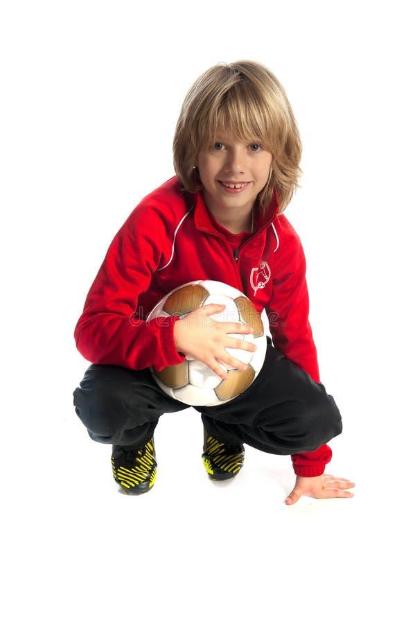 Fotboll-spelare royaltyfri foto