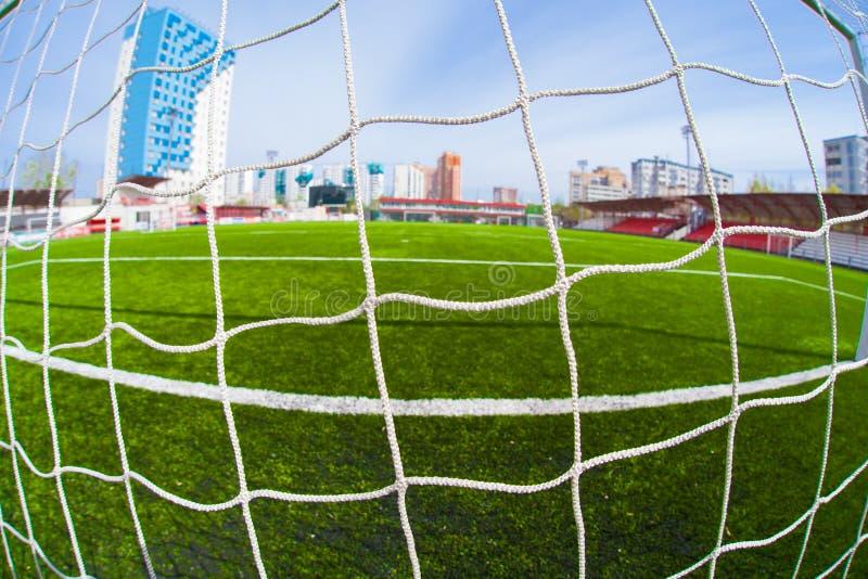 Fotbollarena, stadion royaltyfri fotografi