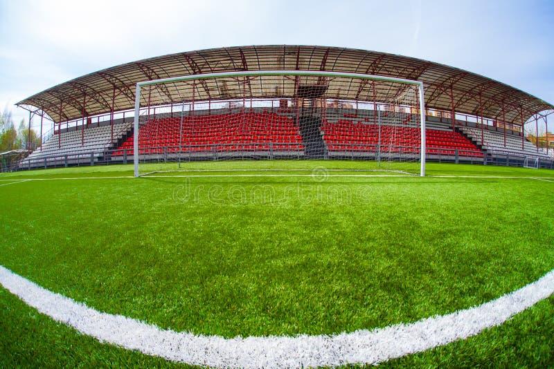 Fotbollarena, stadion royaltyfria bilder