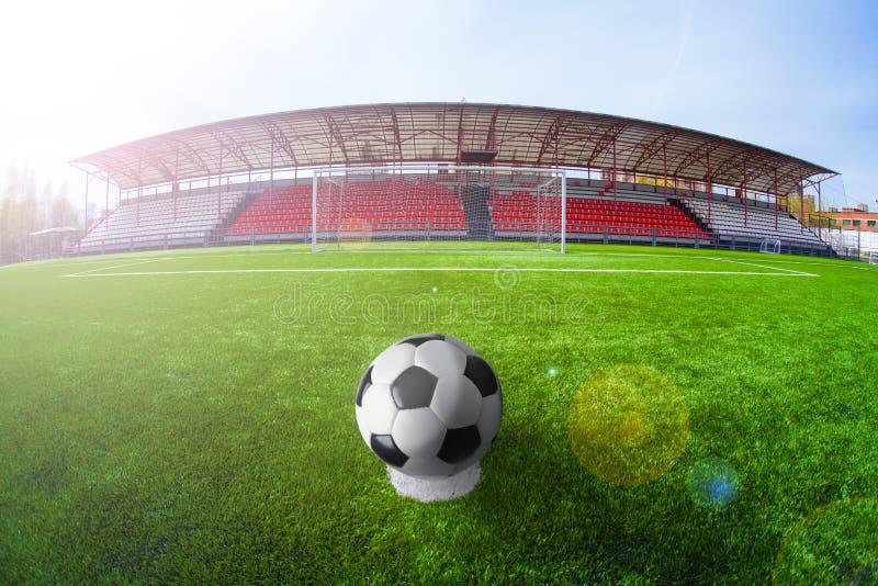 Fotbollarena, stadion royaltyfri foto