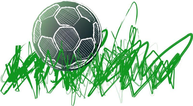 Fotbollboll, internationell kopp, fotbolldesign vektor illustrationer