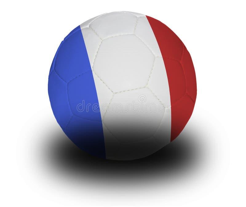 fotbollfransman royaltyfri illustrationer