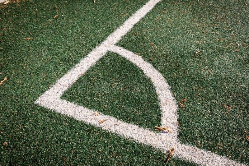 Fotbollgräs arkivfoton