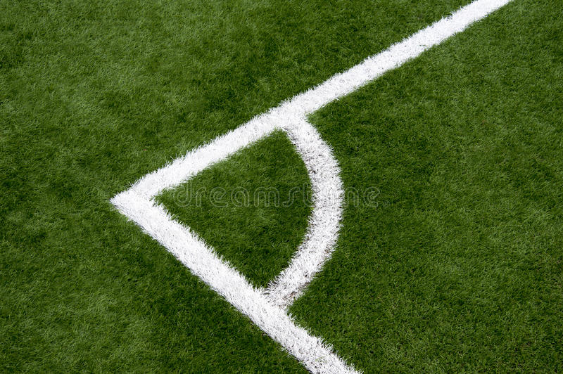 Fotbollhörn arkivfoto