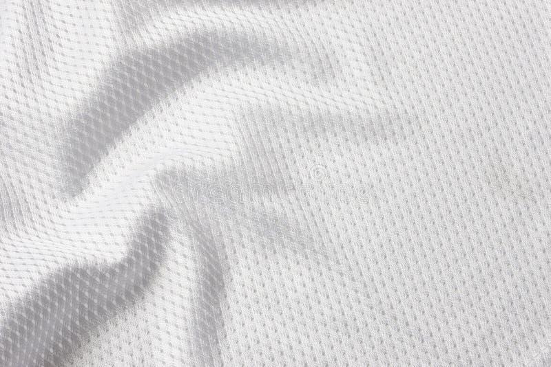 fotbolljersey white fotografering för bildbyråer