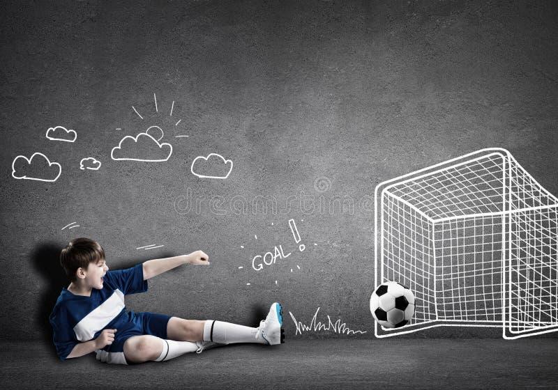 Fotbollmästare arkivfoto