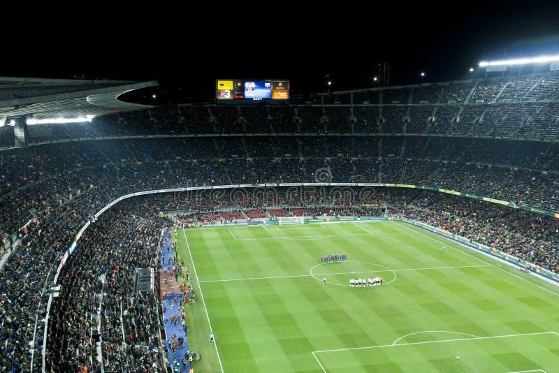fotbollmatch royaltyfri fotografi