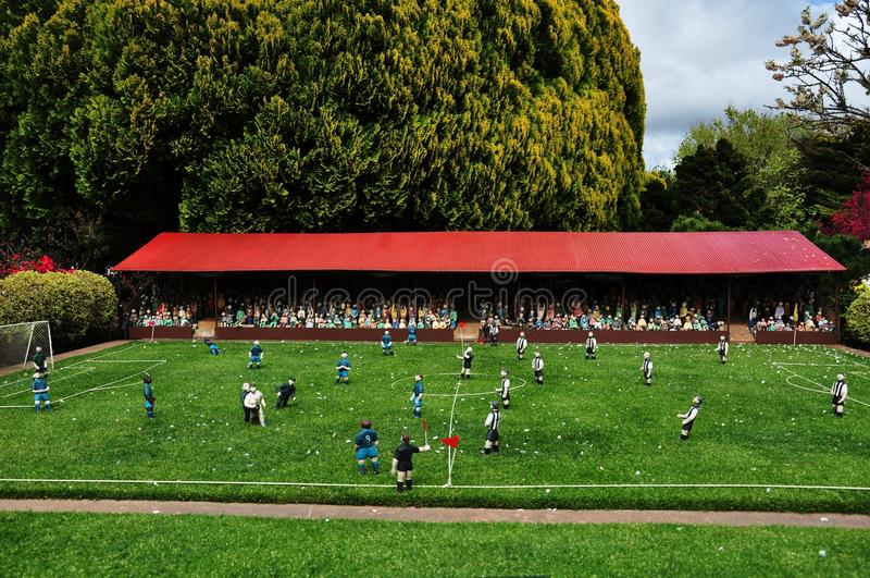Download Fotbollmatch arkivfoto. Bild av miniatyr, upphetsa, full - 27278000