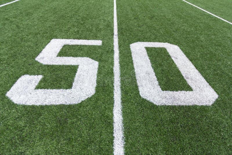 Fotbollnummer fotografering för bildbyråer