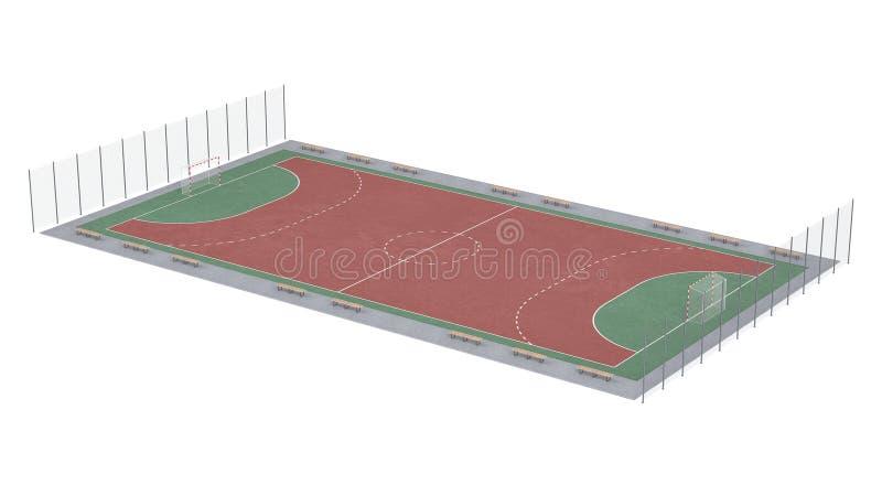 fotbollpitch vektor illustrationer