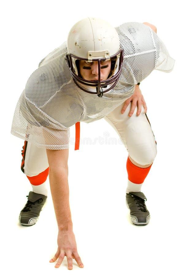 fotbollsspelare royaltyfri fotografi