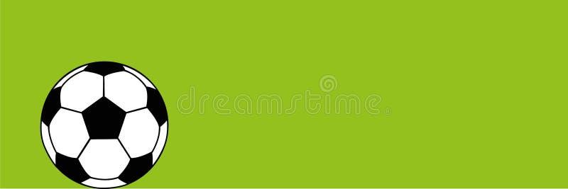 Fotbollsymbol som isoleras på grön pictogram för bakgrundsfotbollboll stock illustrationer