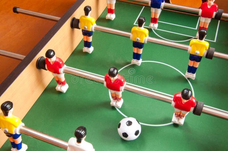 fotbolltabell royaltyfri bild