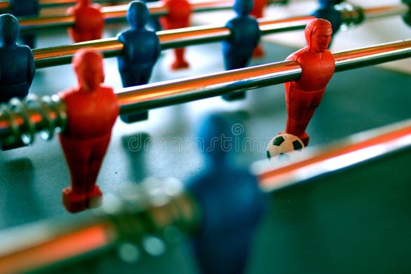 fotbolltabell royaltyfria foton