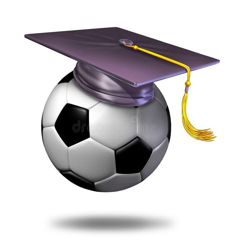fotbollutbildning royaltyfri illustrationer