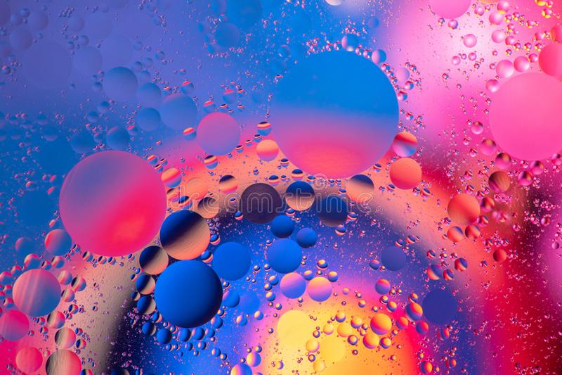 Foto abstracte multicolored cirkels als achtergrond stock fotografie