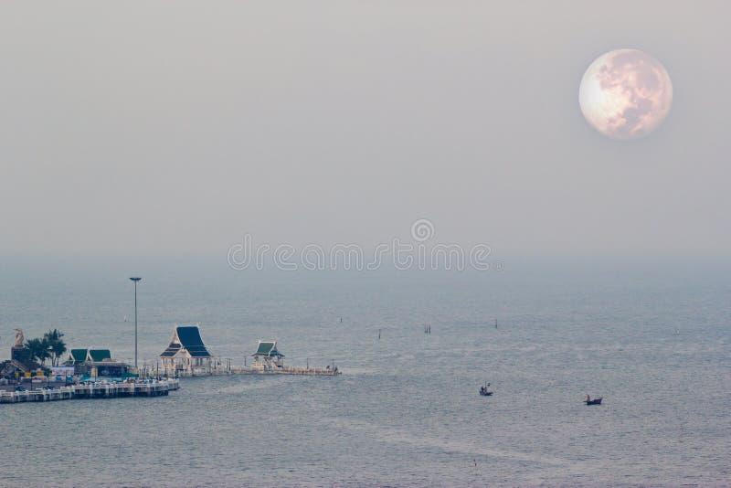 Foto aerea della baia zean di colpo, Tailandia fotografie stock