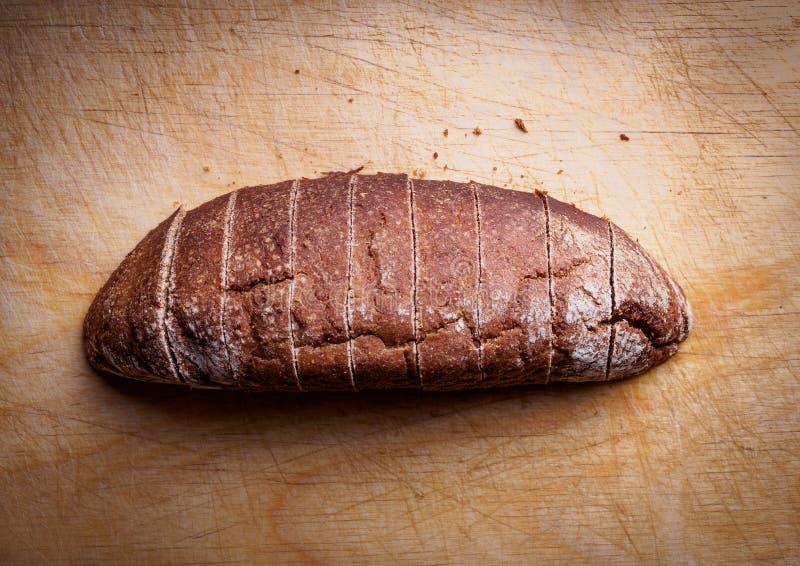 Foto av bröd ovanför sikt royaltyfri foto