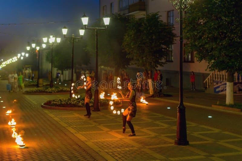 Foto av brandkapaciteten på stadsgatan royaltyfria foton