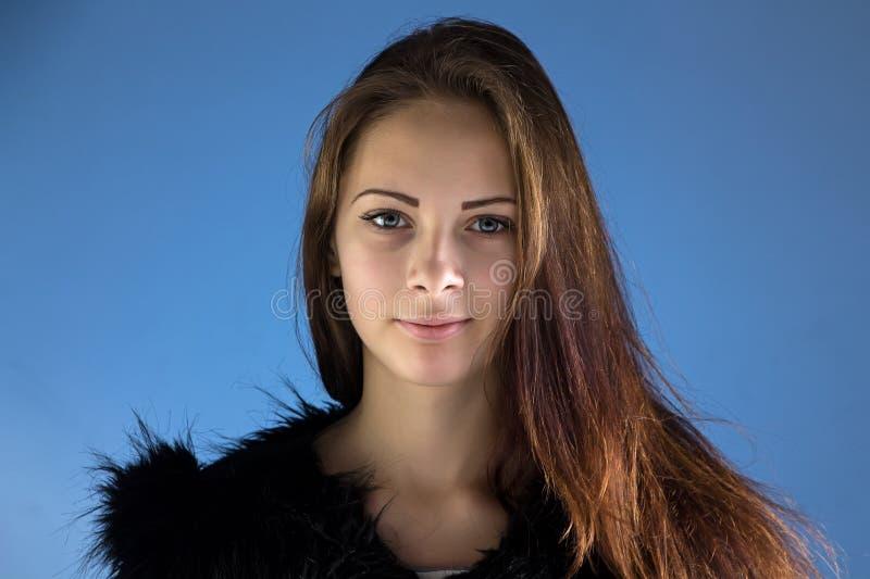 Foto av den tonårs- flickan arkivbilder