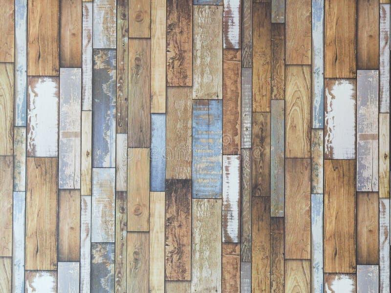 Foto av den Wood väggmodellen royaltyfri fotografi