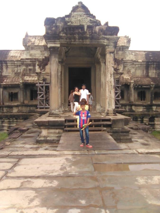 Foto av det Kambodja planloppet royaltyfria foton