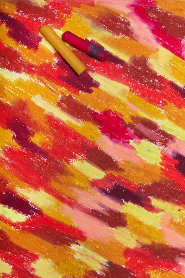 Foto av handteckningen Färgrik textur för bakgrund stock illustrationer