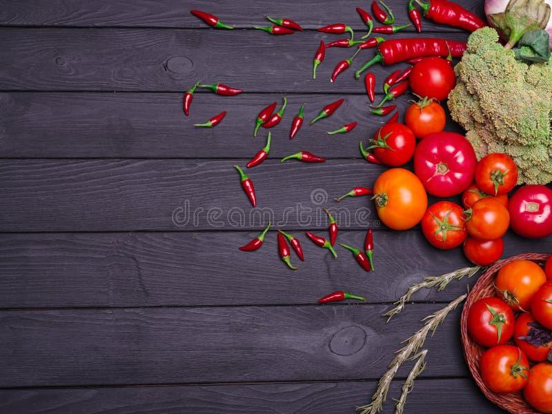 Foto av nya aptitretande grönsaker Riktig näring vegetarianism royaltyfri fotografi