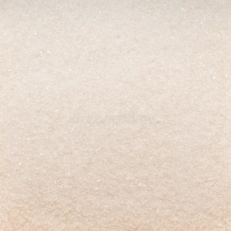 Foto av vit textur för closeup av socker, bakgrund arkivfoto