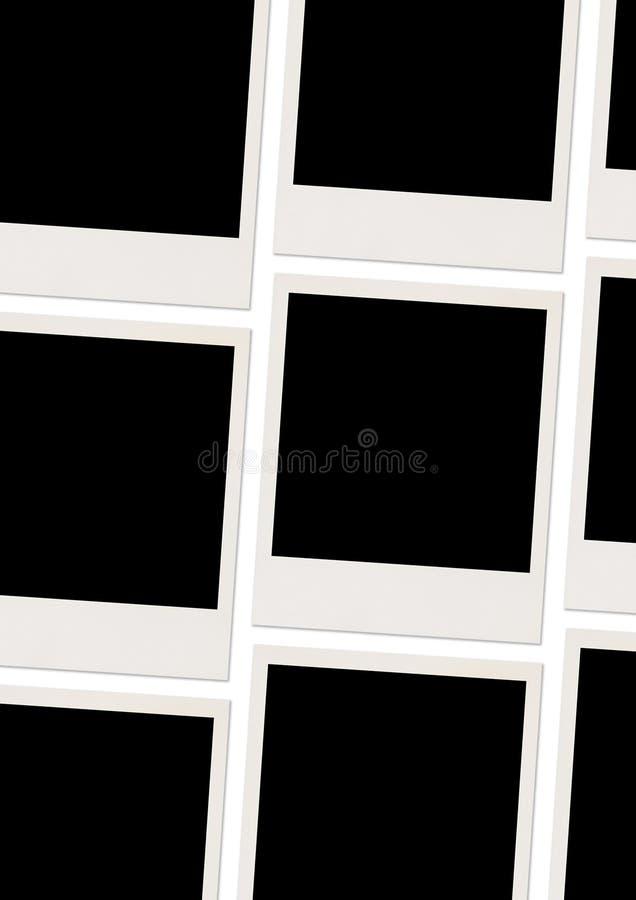 Foto in bianco illustrazione di stock