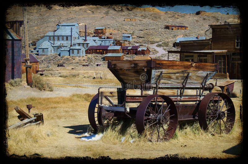 Foto Bodie-nationaler Nationalpark, Ca, USA stockfoto