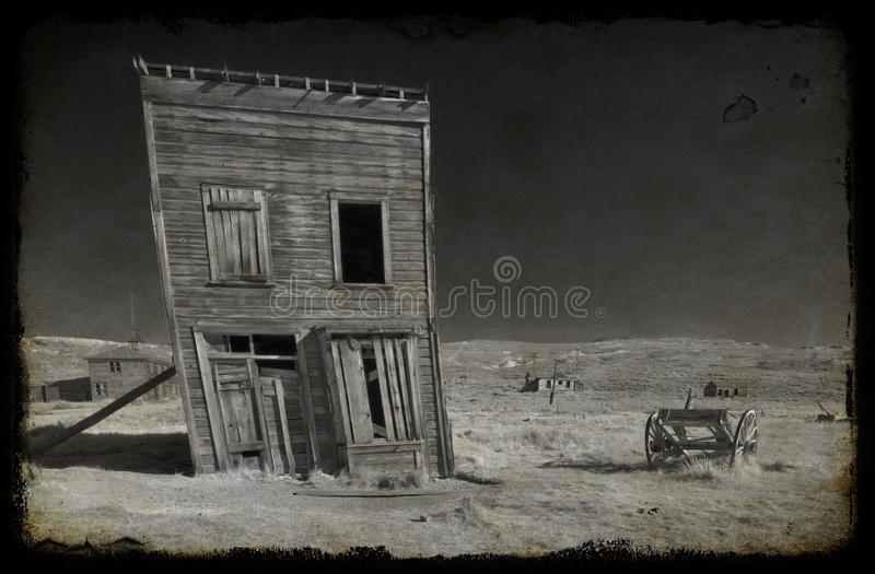 Foto Bodie-nationaler Nationalpark, Ca, USA stockfotografie