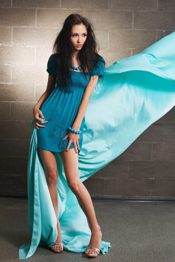 Foto bonita da forma da mulher imagem de stock royalty free