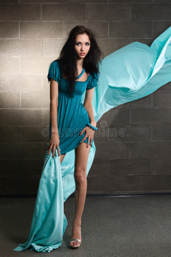Foto bonita da forma da mulher fotografia de stock royalty free
