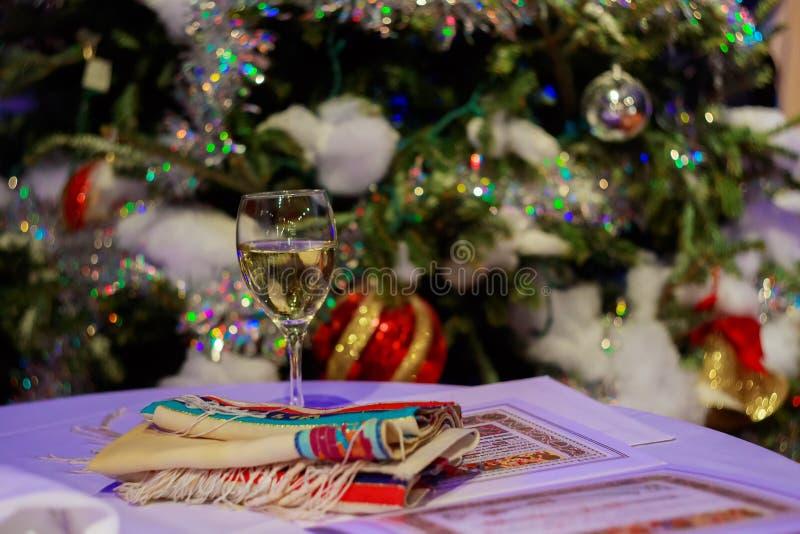 Foto bonita do Hupa judaico, putdoor do casamento fotos de stock