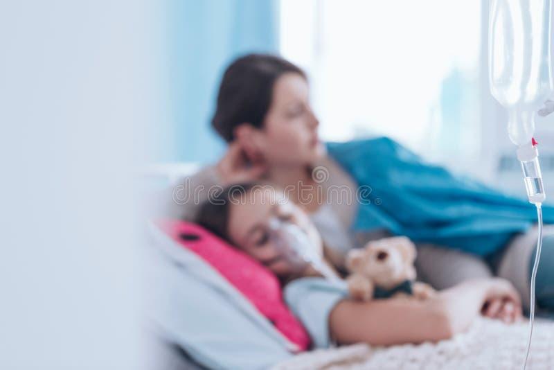 Foto borrosa del niño imagen de archivo libre de regalías