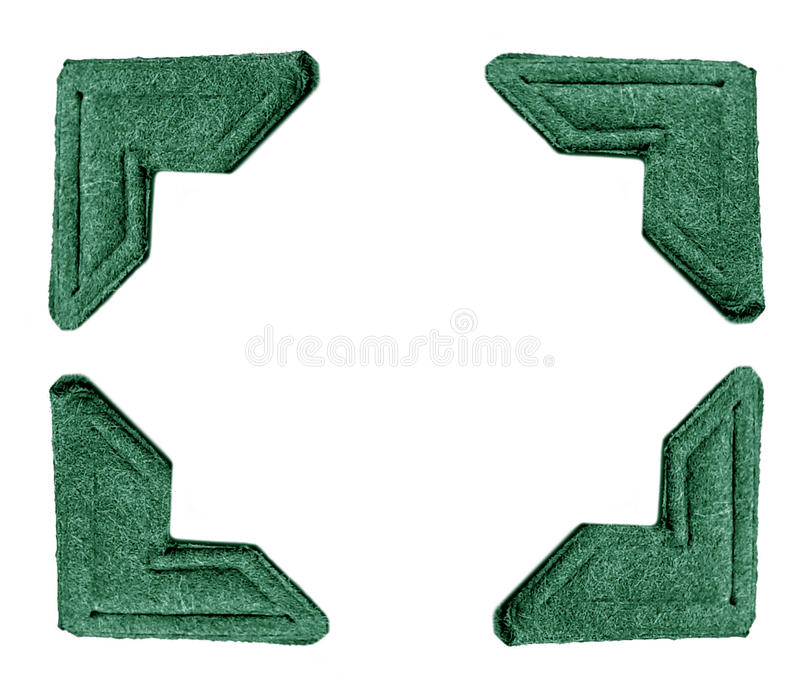 Foto bringt Grün in Verlegenheit stockbild