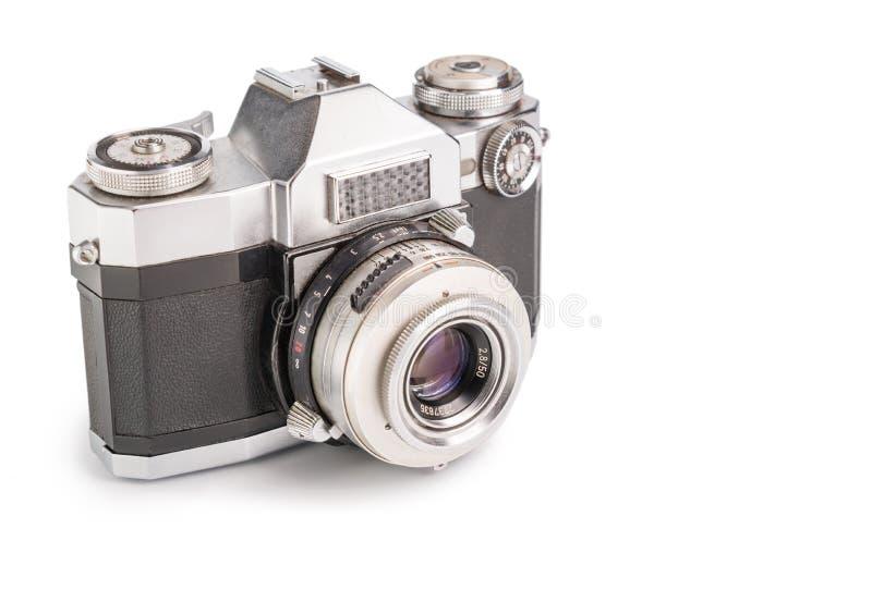Foto-cámara retra foto de archivo