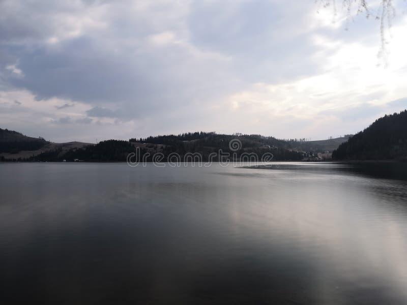 Foto calma del lago fotografie stock libere da diritti