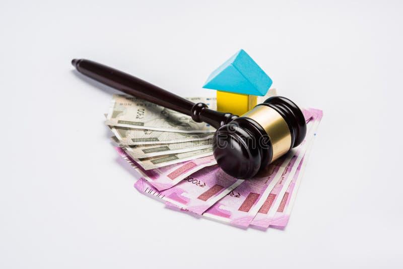 Foto común de la ley de la India y de las propiedades inmobiliarias, de la ley india para las propiedades inmobiliarias/la empres foto de archivo libre de regalías