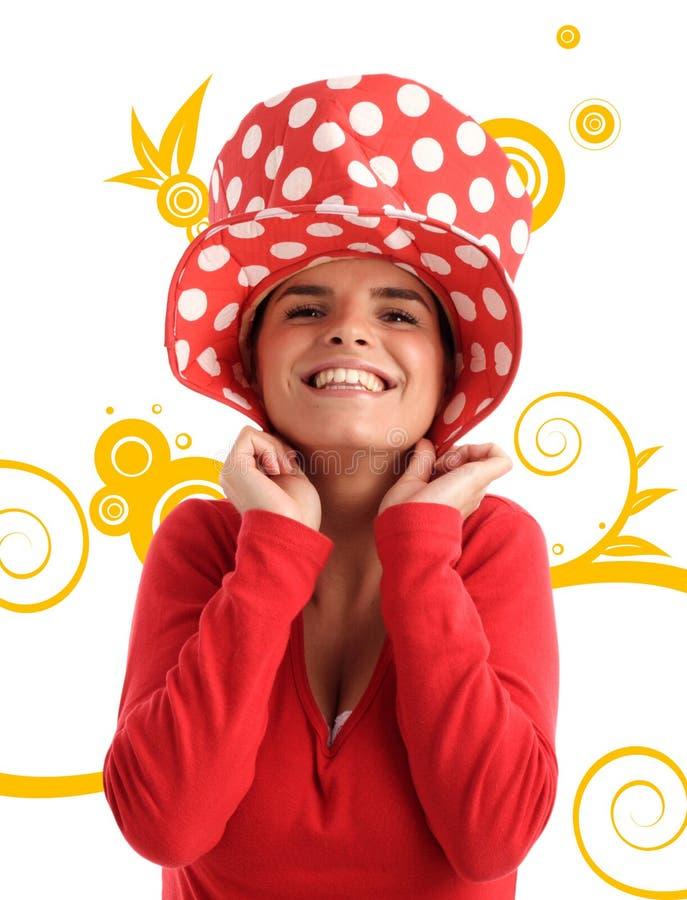Foto común de una mujer bonita joven foto de archivo libre de regalías