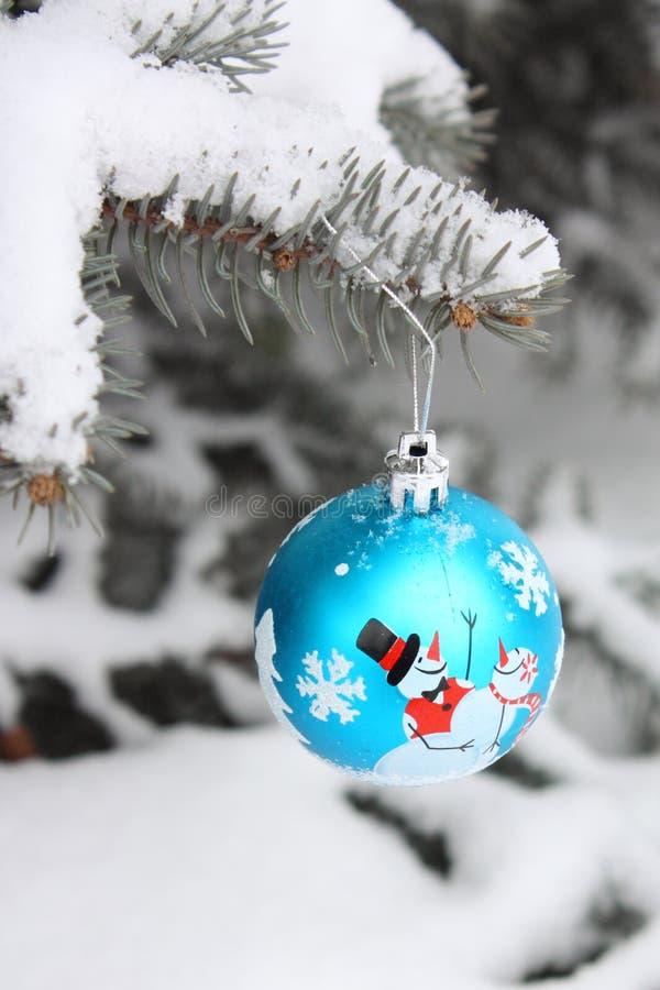 Foto común - decoración de la bola del árbol de navidad imagen de archivo