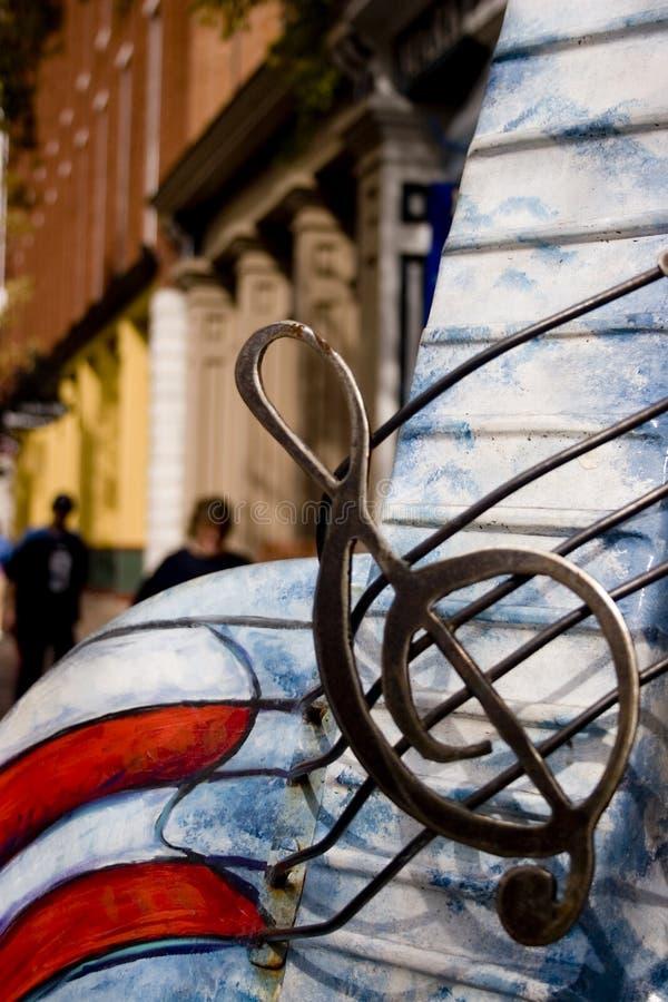 Foto conservada em estoque da rua em Nashville imagem de stock royalty free
